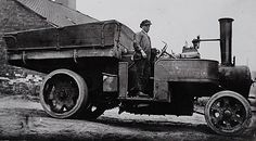 Armitage Transport An early steam wagon in 1909 Vintage Tractors, Vintage Trucks, Old Trucks, Steam Tractor, Steamers, Modern Times, Steam Engine, Classic Trucks, Buses