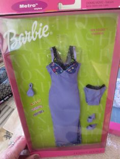 2000 Barbie Fashion Avenue Spa Night Fashions 25701 | eBay