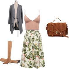сет по эскизу by lidia-gorbunova on Polyvore featuring мода