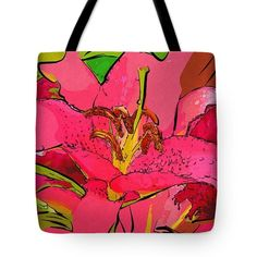 #flowers #art #poster #gifts Arts Of Flowers Tote Bag