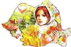 Teaching Kindergarten, Preschool, History Of Romania, English Activities, Doodle Sketch, Folk Art, Coloring Books, Aurora Sleeping Beauty, 1 Decembrie