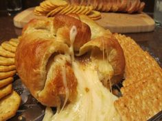This baked brie puff pastry is rich, creamy, and dessert-like. It always disappears. Im always asked for the recipe. Raspberry preserves goes great in this as well. Bringing in 2012 I made this using Recipe #463563!