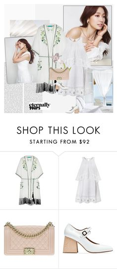 """""""Good Morning,Beautiful"""" by giko-is-giantsister ❤ liked on Polyvore featuring Shin Choi, Matthew Williamson, Chanel and Marni"""