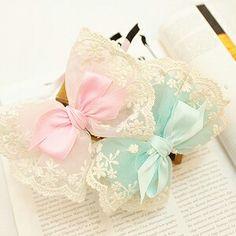 I found this cute hair bow.