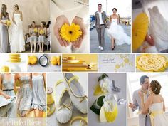 The Perfect Palette: Inspiration Board # 239: Gray & Shades of Yellow!
