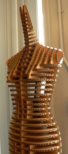 Cardboard mannequin in the gift shop | Flickr: partage de photos!