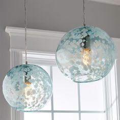 Speckled Hand Blown Glass Pendant – Hobbies paining body for kids and adult Beach House Lighting, Beach House Decor, Home Lighting, Home Decor, Coastal Lighting, Coastal Light Fixtures, Kitchen Pendant Lighting, Kitchen Pendants, Blue Pendants