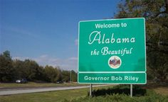 Alabama - The Yellowhammer State
