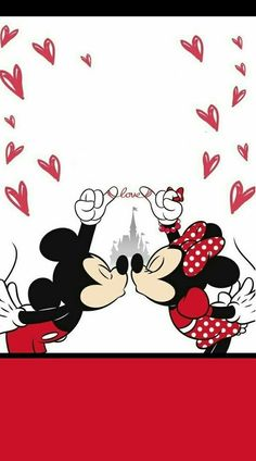 New wall paper phone disney mickey mouse Ideas Disney Mickey Mouse, Mickey Mouse Y Amigos, Mickey And Minnie Kissing, Mickey Love, Mickey Mouse And Friends, Mickey Mouse Background, Disney Background, Mickey Mouse Wallpaper Iphone, Cute Disney Wallpaper