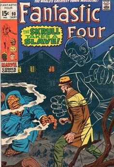 Fantastic Four #90, beginning one of my favorite Jack Kirby story arcs.