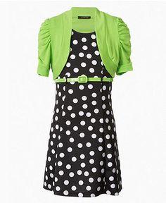 Rare Editions Kids Dress- Girls Sequin Zebra Dress - Kids - Macy&-39-s ...