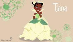 Disney Princess Young ~ Tiana by miss-lollyx-33.deviantart.com on @DeviantArt