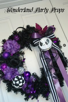 "Photo 2 of 6: Nightmare Before Christmas / Halloween ""Halloween door entrance"" 