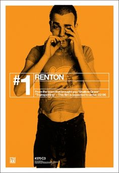 Saved by MoMA Design Studio (moma_design). Discover more of the best Film, Trainspotting, Poster, Video, and Audit inspiration on Designspiration Trainspotting Poster, Renton Trainspotting, Francisco Javier Rodriguez, Cinema Posters, Movie Posters, Poster Ads, Happy 15th Birthday, Fritz Lang, Creative Review
