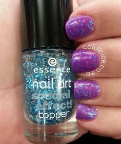 China Glaze Are You Jelly? and essence glorious aquarius jelly sandwich. Nail Art Techniques, Some Times, China Glaze, Aquarius, Jelly, Nail Polish, Challenges, Glitter, Nails