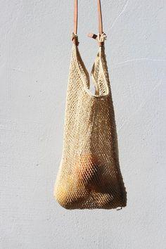 agave fiber market bag - light