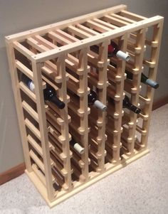 35 bouteille stockage Style Wine Rack - Expolore the best and the special ideas about Italian wine Vin Palette, Wine Rack Plans, Pallet Wine, Wine Tasting Events, Wine House, Wine Sale, Wine Subscription, Expensive Wine, Bottle Rack