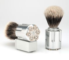 has to be the coolest shave brush ever