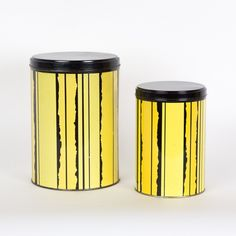 Storage containers from the sixties by unknown designer for Tomado Holland