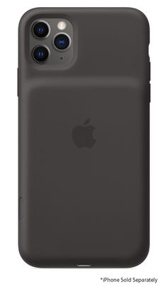 Apple iPhone 11 Pro Max Black Smart Battery Case With Wireless Charging - MWVP2LL/A