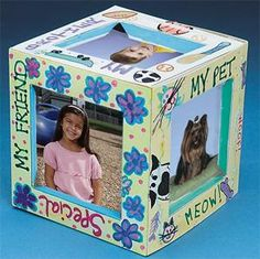 3-D Cube Frame Craft Kit (makes 24)