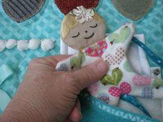 Fidgety Garden Girl Fidget Quilt Tactile Bright