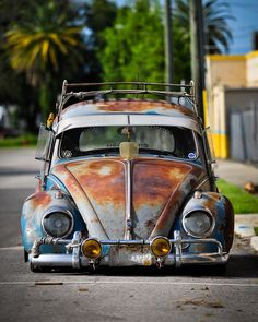 The look is simply awesome to me. The low ride, fog lights, rope, and rust. It just looks way awesome!!