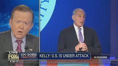 Lou Dobbs Tonight 4/18/2017 President Trump Latest News Today, S Korea ,...