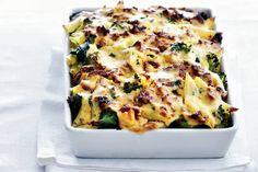 Ovenpasta met broccoli & spinazie - Recept - Allerhande