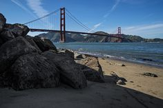 Golden Gate and Rocks