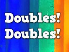 """This is """"Doubles Rap"""" by Krista Hall on Vimeo, the home for high quality videos and the people who love them. Go Math, Math Work, Kindergarten Math, Teaching Math, Elementary Math, Doubles Rap, Math Songs, Math Addition, Doubles Addition"""
