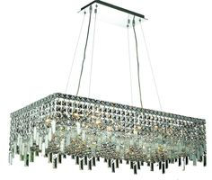 Maxim 16 Light Crystal (Clear) Chandelier in Chrome Finish 2035D36C/RC