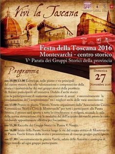 Italia Medievale: Quinta Parata dei Gruppi Storici della provincia a Montevarchi (AR)