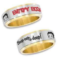 Betty Boop - oh! I want these!