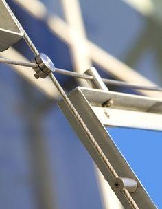 Modular Gateaway Facade - Whitten Football Oval - Ronstan Tensile
