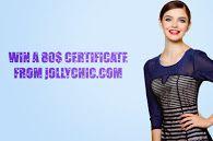 Giveaway - Win a 80$ Certificate from JollyChic.com http://www.summercaffe.com/2014/02/giveaway-from-jollychic-win-80.html#.UwXdwYX0jKd
