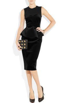 like the ruffles to hide my post baby tummy lol - timeless little black dress