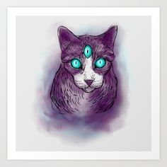 Collect your choice of gallery quality Giclée, or fine art prints custom trimmed by hand in a variety of sizes with a white border for framing. Buy A Cat, Fine Art Prints, Watercolor, Gallery, Cats, Fictional Characters, Pen And Wash, Watercolor Painting, Gatos