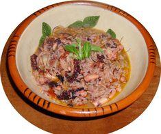 Le Poulpe marque une présence importante dans la gastronomie de l'Algarve, par exemple dans feijoadas, frits ou grillé sur la braise.