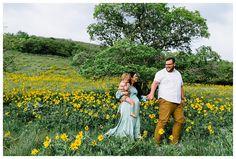 Sunflower Maternity Session Baby Boy | Hello Emmy Lowe
