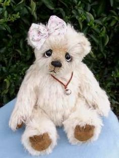Bonnie Ooak Mohair Bear by By Ellie-Bears