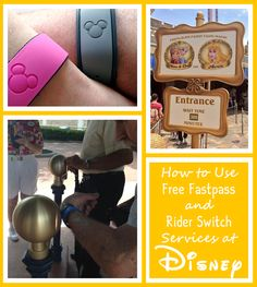 If you have questions about using the FREE Fastpass+ and Rider Switch services Disney offers, then this post was written for you!