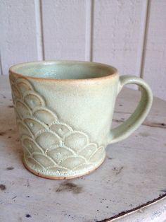 Jenna Bonitatibus Stoneware Pottery Mugs by zotterthepotter, $26.00