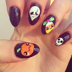 halloween by nailsbyrosie  #nail #nails #nailart