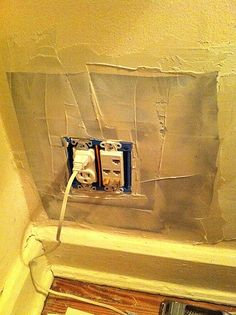 How to properly patch a plaster wall - thorough article!