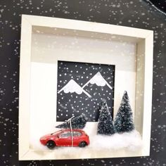Let's start thinking about christmas decor! #DIY #Ikea #ikeahack #ikeahacks #ribba #decor #christmas #mommodesign