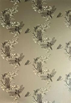 Dragonfly Wallpaper, Designer Wallpapers For Walls | Barneby Gates