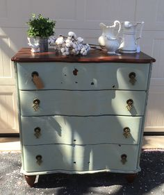 Dresser Painted With Miss Mustard Seed Milk Paint Eulalies