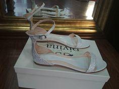 Divina flat νυφικά πέδιλα με γκλιτερ οργατζα Wedding Shoes, Glitter, Flats, Bridal, Sneakers, Fashion, Bhs Wedding Shoes, Loafers & Slip Ons, Tennis