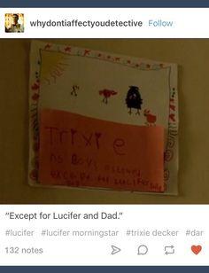 Lucifer; Trixie Decker